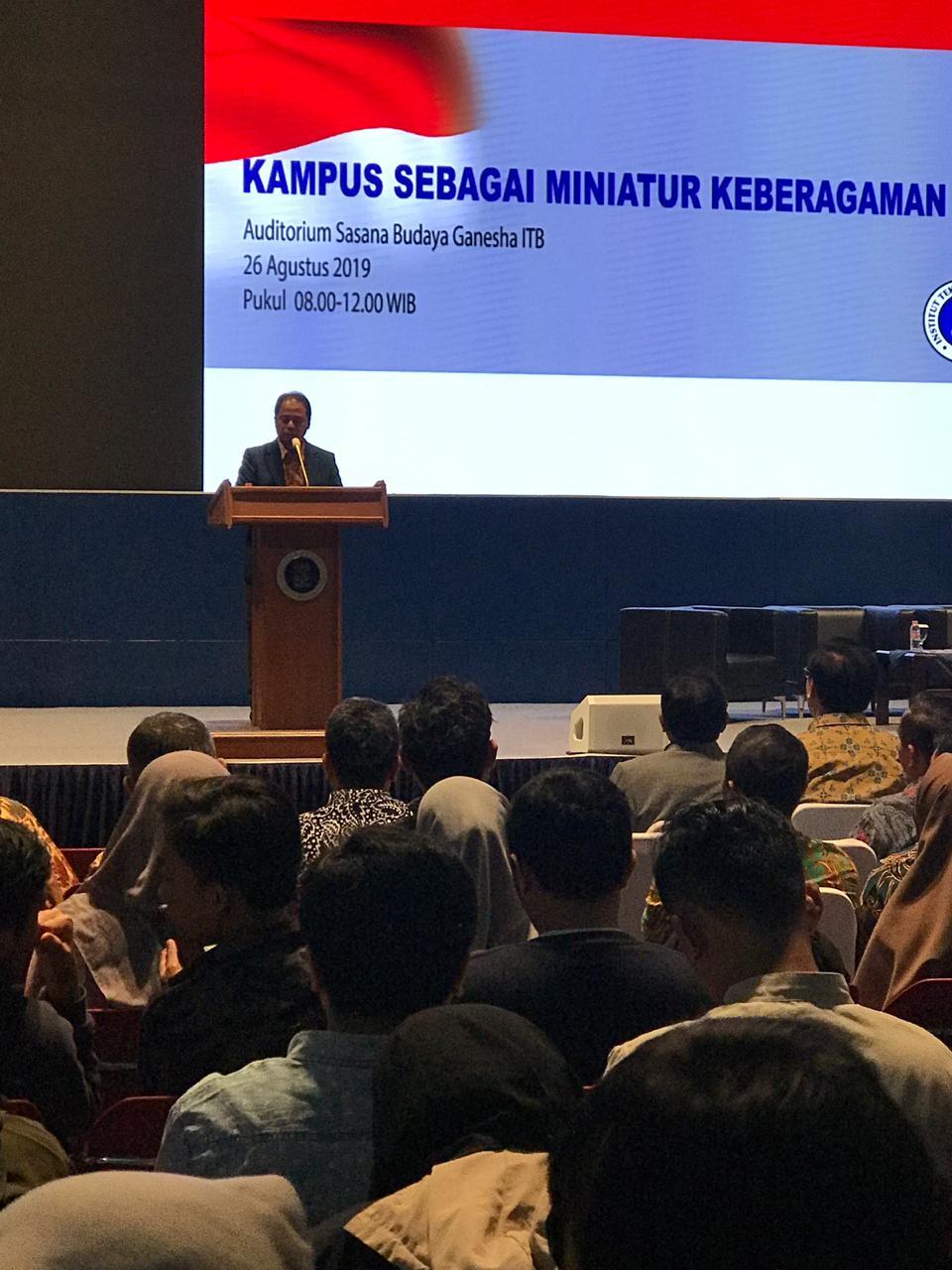 """Seminar Nasional """"Kampus Sebagai Miniatur Keberagaman Indonesia"""""""